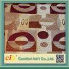 Tissu de coton de polyester pour la couverture de sofa avec Nice les modèles de conceptions