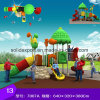 Развлечения для детей игровая площадка на открытом воздухе пластика больших слайдов