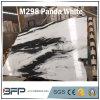 Partie supérieure du comptoir en pierre de marbre de luxe blanche de brame de panda neuf, carrelage