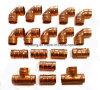 Медь нажмите фитинги кольцо припоя сокращения EN1254-1 ANSI B16.22 12 мм, 15 мм, 20 мм, 55мм с заводская цена