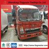 5 camion della casella di Sinotruk HOWO di tonnellata mini con Van Type Cargo