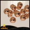 Moderne kupferne Glaskugel-hängende Lampe (KAMD8720)