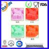 Vária forma e moldes diferentes do bolo do silicone do produto comestível da cor