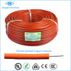 Profesional de caucho de silicona trenzado cables de alambre eléctrico fabricante