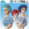 Protezione Bouffant non tessuta per l'ospedale, cappelli rotondi per la trasformazione dei prodotti alimentari