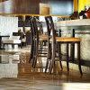 Tabouret de barre en bois moderne d'usine de la Chine pour des meubles de restaurant d'hôtel