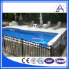 Frontière de sécurité bon marché de piscine de dessus plat pour des gosses/profil en aluminium