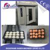 Equipamento de padaria baguete francesa Forno Rotativo 16 bandejas de gás