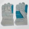 Коровы Split кожаные усиленные двойные кожаные перчатки (3060.05 Palm работы)