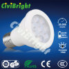 Indicatore luminoso bianco di E27 PC+Aluminum 7W LED PAR20