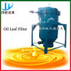 Filtre à huile de lame de pression pour la purification d'huile de cuisine