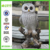Stump (NF12035-1)の音響のControl Eye Light Owl Resin Figurine