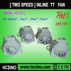 ventilateur intégré à deux vitesses en plastique de conduit de 4  ~8' (HCTT-D)