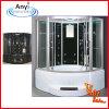 TV (AT-GT0907)が付いているアクリルの白い蒸気のシャワー室