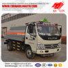 4X2 Vrachtwagen van de Tanker van de Vorm van de aandrijving de Bijtankende met ABS Remmend Systeem