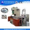 Barbacoa único contenedor de papel de aluminio que hace la máquina para hornear