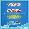 Nécessaire Band-Aid de premiers soins de plâtre de blessure estampé par coutume différente de couleurs (PE/PU/non-woven/fabric)