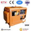 Générateur diesel de début électrique avec du CE (3/5KW)