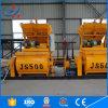 Misturador concreto barato do preço Js500 do eixo dobro de China