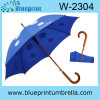 De auto Open Houten Paraplu van de Regen van de Stok van de Schacht (w-2304)