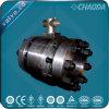 Valvola a sfera d'acciaio forgiata ad alta pressione di galleggiamento