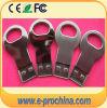 Mini-metálica prateada tecla micro disco flash USB de memória (EM513)