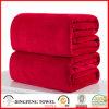 Super doux Coral Fleece Solid Color Blanket DF-9937