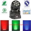 7X10W RGBW 4NO1 LED Mini Cabeça Móvel