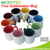 11oz Sublimation Coated Ceramic Two-Tone Color Mug (MT-B002H)