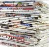 papel papel de periódico