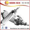 Алюминиевый проводник стальные усиленные накладных ACSR жильного кабеля