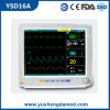 Calidad caliente monitor paciente Ysd16A del multiparámetro portable de 12.1 pulgadas
