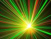 лазер звезды 150mw RGY Moving