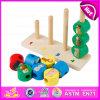 Giocattolo di legno brandnew del blocchetto di 2015 Jenga, fumetto sveglio Jenga di legno Blcok, giocattolo di legno educativo W13D095 del blocchetto di Jenga