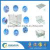 Switches empilháveis com rodas recipiente de armazenamento Industrial