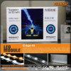 Publicidad de la caja ligera de la materia textil LED