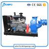 Hohe Kapazitäts-Abwasser-Übergangsselbstgrundieren-Schlamm-Pumpe mit bester Qualität