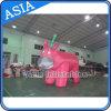 昇進または党のための美しいカラー巨大で膨脹可能な牛か膨脹可能な気球