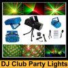 Luz roja clara/verde de la mini etapa del LED del laser de la Navidad de DJ de la Navidad