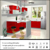 Neue Entwurfs-rote Farben-UVküche-Möbel (FY2547)