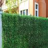 Rete fissa verde artificiale superiore del foglio
