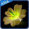 décoration gonflable colorée de fleurs de 3m avec l'éclairage de LED pour la décoration d'étape