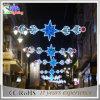 Pólo de rua Natal Luz Motif, Decoração de Natal Comercial