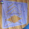 Жесткий прозрачный пластиковый лист из ПВХ Moldable для одежды гравировка модели