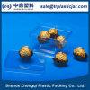 Caja cuadrada transparente del chocolate del modelo nuevo