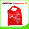 Cadeau pliant Adorable en polyester rouge Merry Christmas Bag