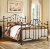 호화스러운 2인용 침대 홈 가구 금속 2인용 침대