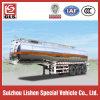 De normale Aanhangwagen van de Vrachtwagen van de Aanhangwagen van de Legering van Alluminum van de tri-As van het Vervoer van de Tanker van het Hexaan Semi