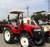 90HP Tractor de met 4 wielen van de Landbouw van de Aandrijving