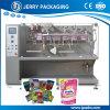 분말 & 액체 충전물을%s 자동적인 음식 주머니 패킹 포장 기계